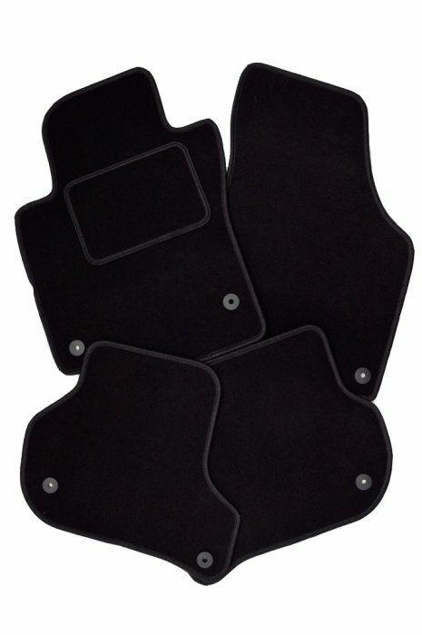 Auto koberce Citroen C3 Picasso 2009 -> černé, textilní SIXTOL