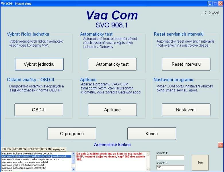 Diagnostika VAG-COM Max