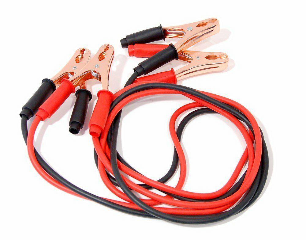 Kabely startovací 200 A 2,5m 100% měď ZIPPER BAG, COMPASS