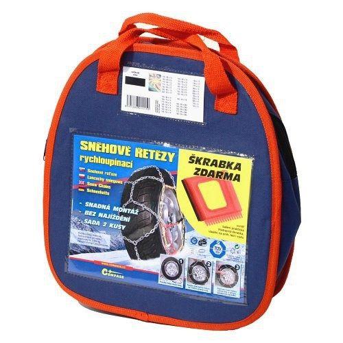 Sněhové řetězy X90 3,0mm 9mm NYLON BAG COMPASS