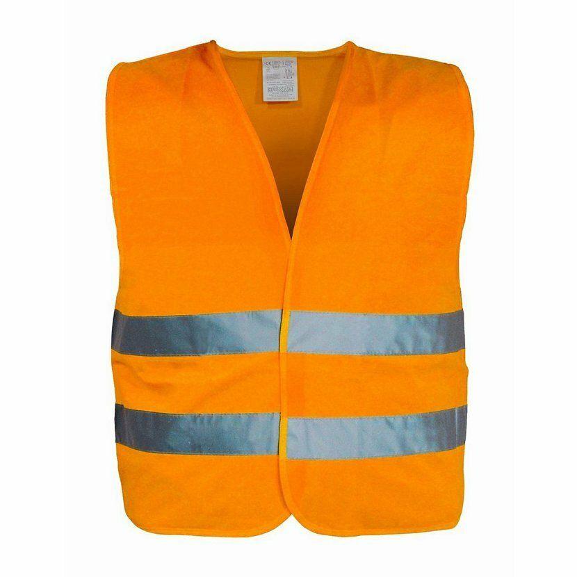 Vesta výstražná oranžová XXL EN 20471:2013 COMPASS