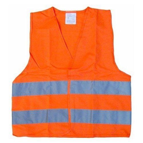 Vesta výstražná oranžová dětská COMPASS