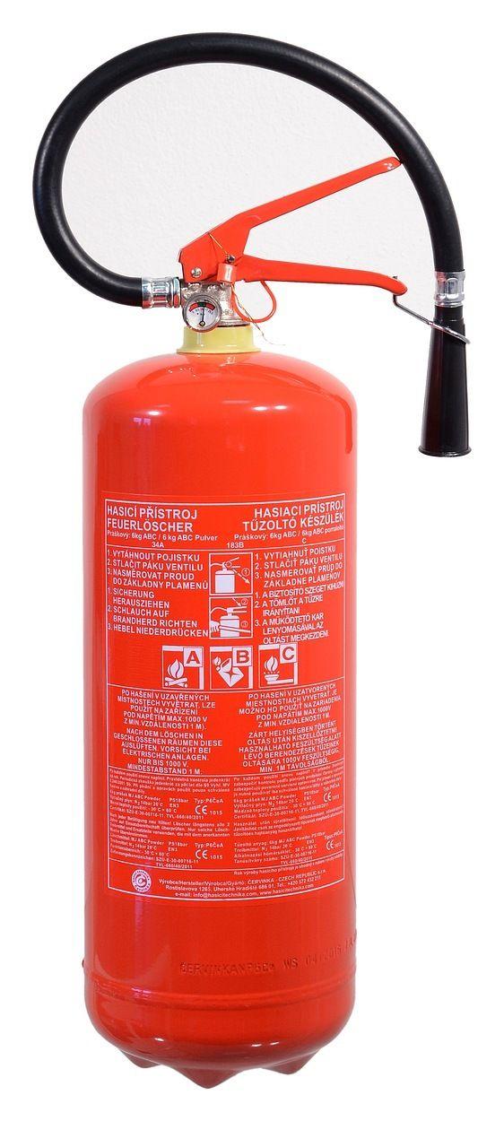 Hasicí přístroj práškový 6 kg ABC (34A) COMPASS