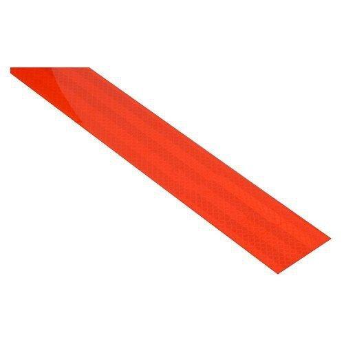 Samolepící páska reflexní 1m x 5cm červená COMPASS