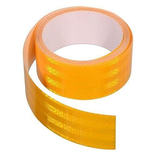 Fotografie Samolepící páska reflexní 5m x 5cm žlutá (role 5m), COMPASS