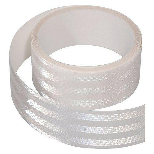 Samolepící páska reflexní 5m x 5cm bílá (role 5m), COMPASS