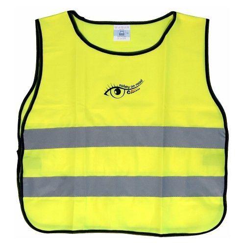 Vesta výstražná žlutá dětská S.O.R. COMPASS