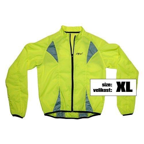 Bunda XL reflexní žlutá S.O.R., COMPASS