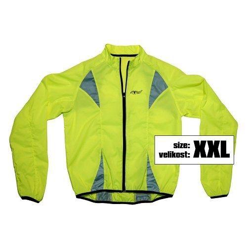 Bunda XXL reflexní žlutá S.O.R., COMPASS