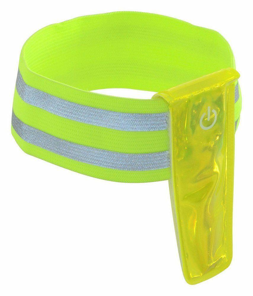 Pásek reflexní 4LED na ruku COMPASS