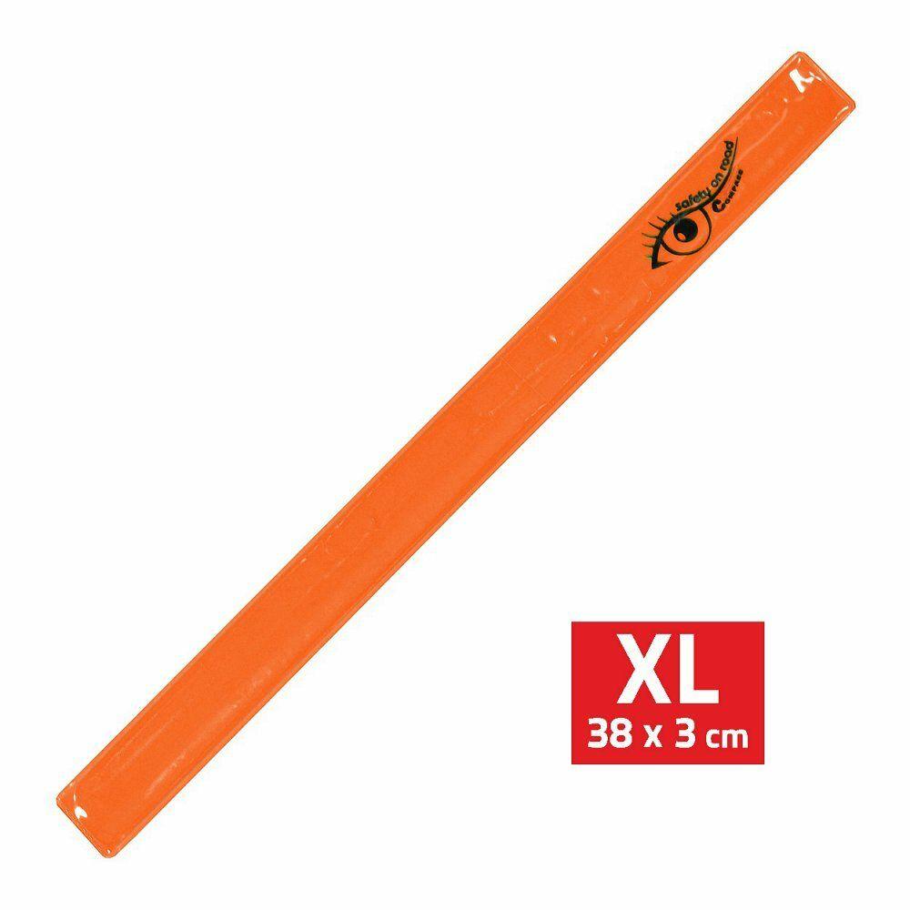 Pásek reflexní ROLLER XL 3x38cm S.O.R. oranžový COMPASS