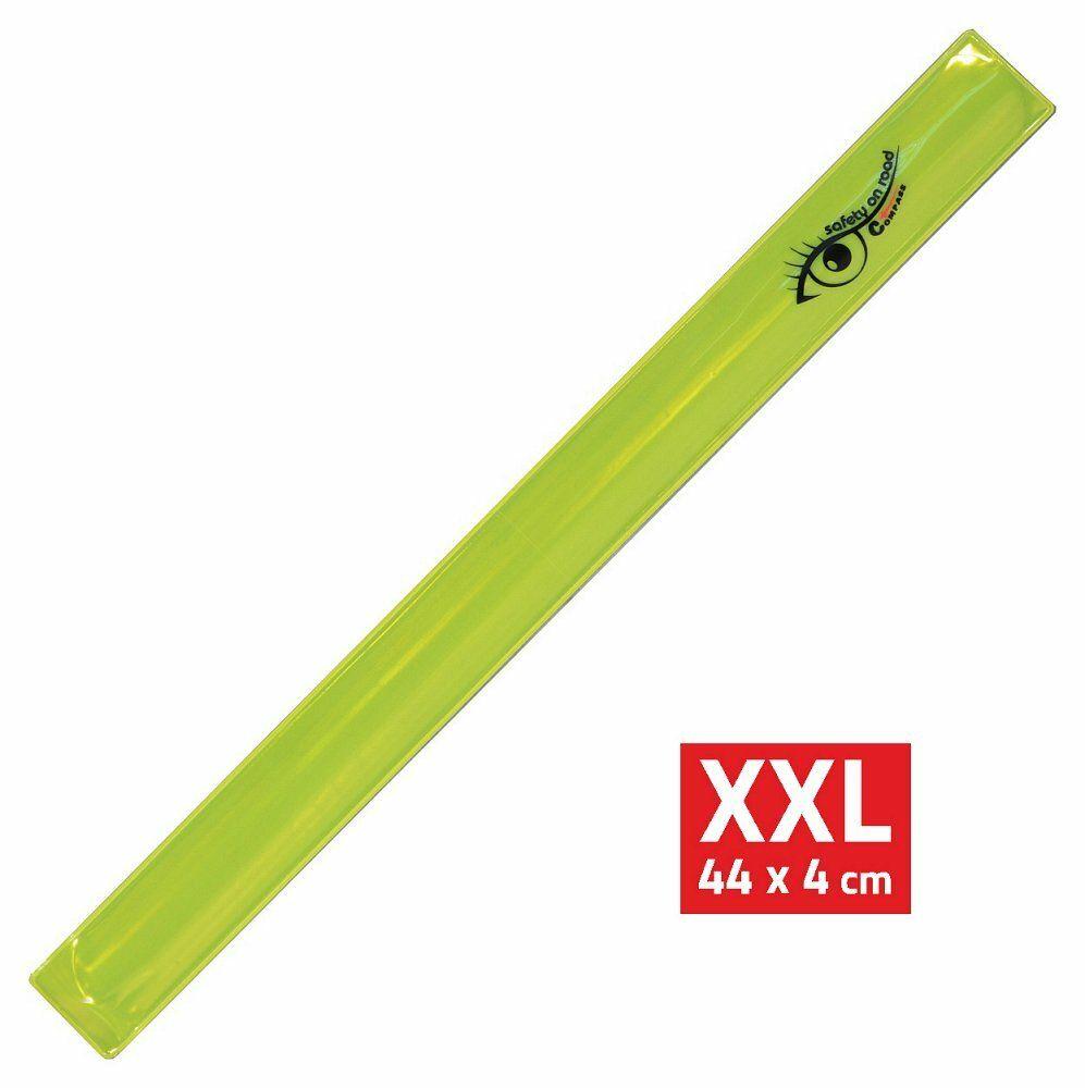 Pásek reflexní ROLLER XXL 4x44cm S.O.R. žlutý COMPASS