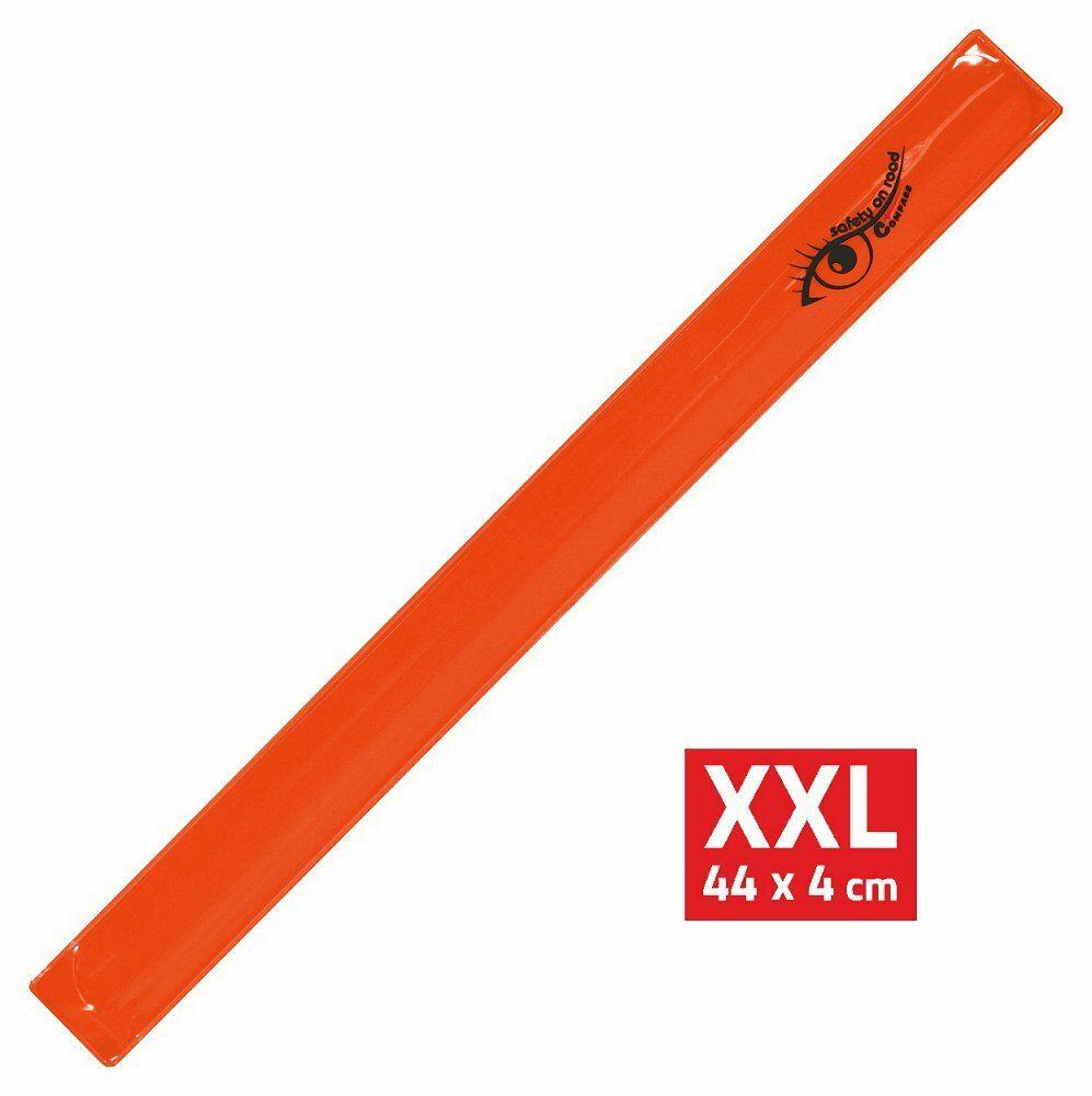 Pásek reflexní ROLLER XXL 4x44cm S.O.R. oranžový COMPASS