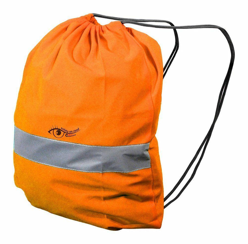 Batoh reflexní S.O.R. oranžový, COMPASS