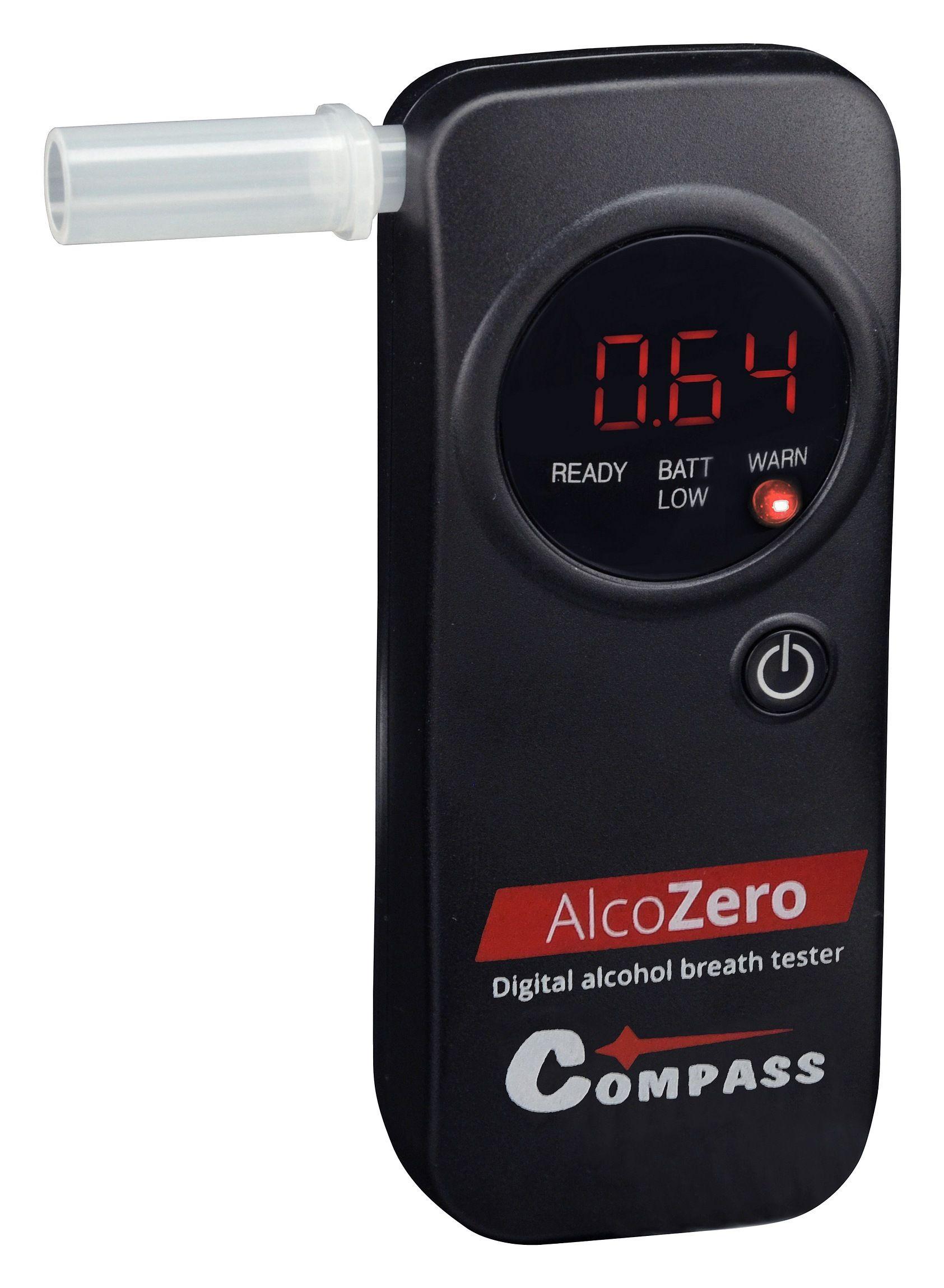 Alkohol tester AlcoZero - elektrochemický senzor, COMPASS
