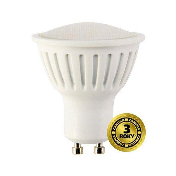Žárovka LED SPOT GU10 5W bílá přírodní SOLIGHT TIPA
