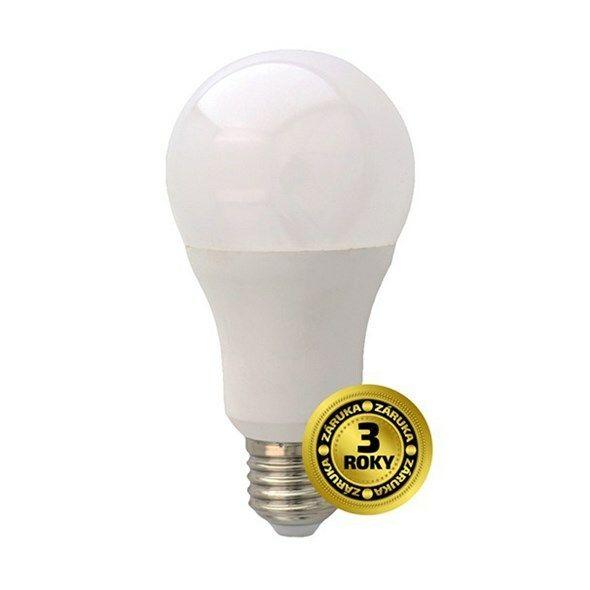 Žárovka LED A60 E27 15W bílá přírodní SOLIGHT TIPA