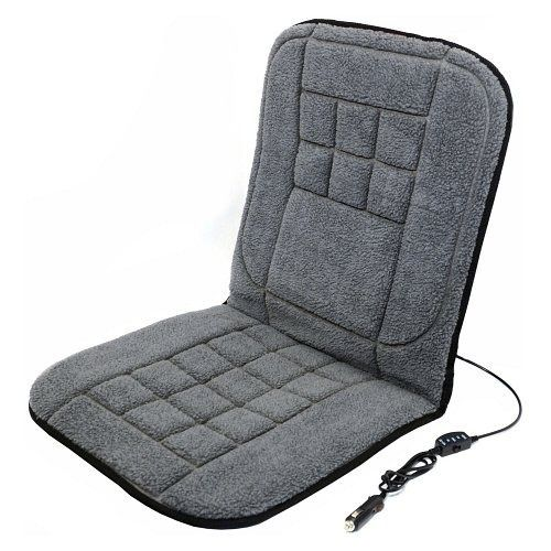 Potah sedadla vyhřívaný s termostatem 12V TEDDY, COMPASS