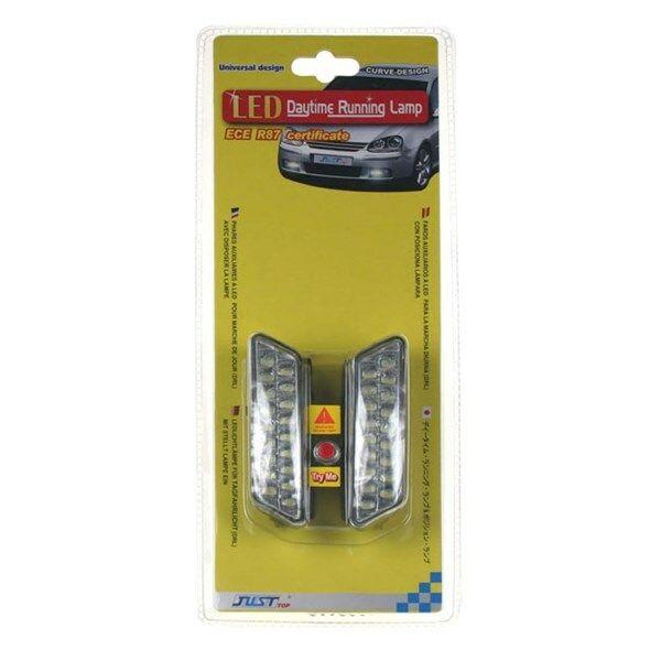 Světla pro denní svícení LED DRL mini 1810, homologace TIPA