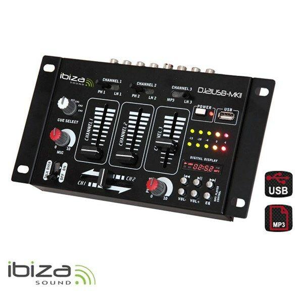 Mixážní pult IBIZA DJ21USB-MKII