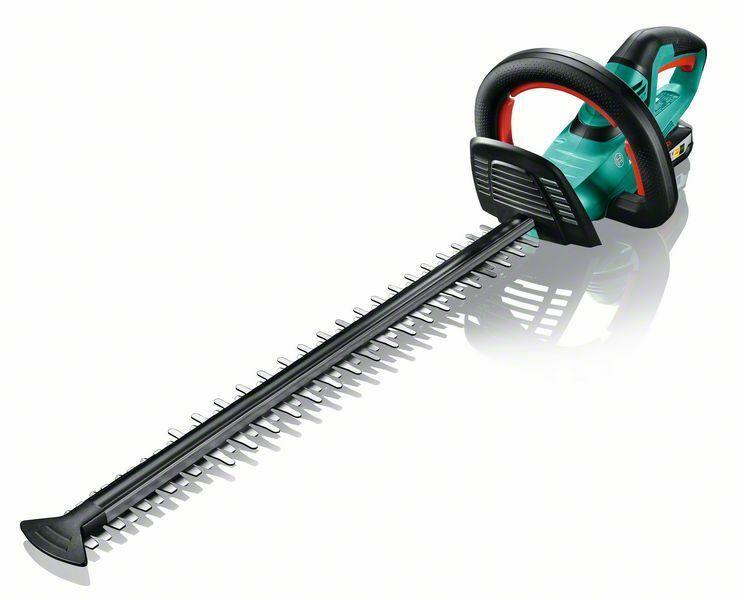 Aku nůžky na živé ploty Bosch AHS 55-20 LI, 18 V, 1x aku 2,5 Ah, nabíječka, 0600849G00