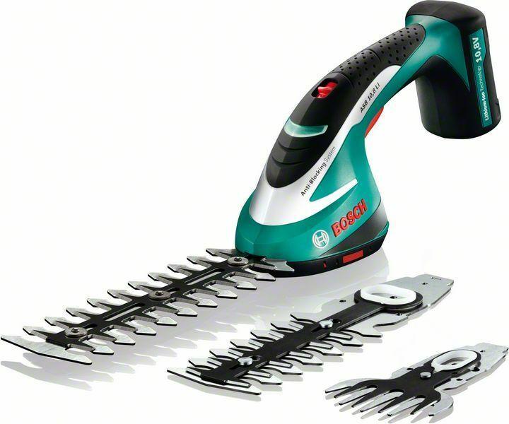 Akumulátorové nůžky na keře Bosch ASB 10,8 LI, 0600856301