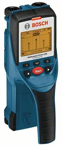 Detektor Bosch Wallscanner D-tect 150 Professional, 0601010005