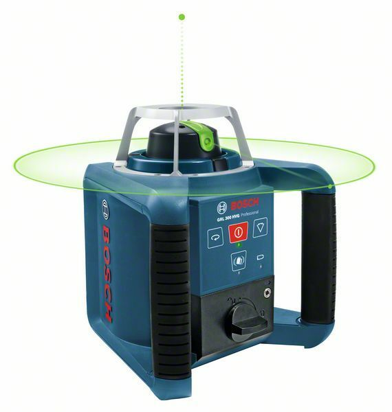 Rotační laser Bosch GRL 300 HVG + přijímač, hlin. stativ Professional, 061599404B