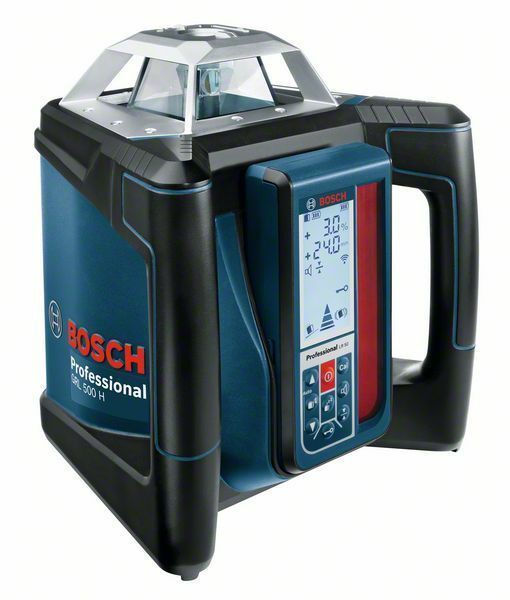 Rotační laser Bosch GRL 500 H + LR 50 Professional, 0601061A00