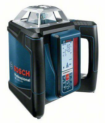 Rotační laser Bosch GRL 500 HV + LR 50 +hl. stativ, nivelační lať Professional, 06159940EF