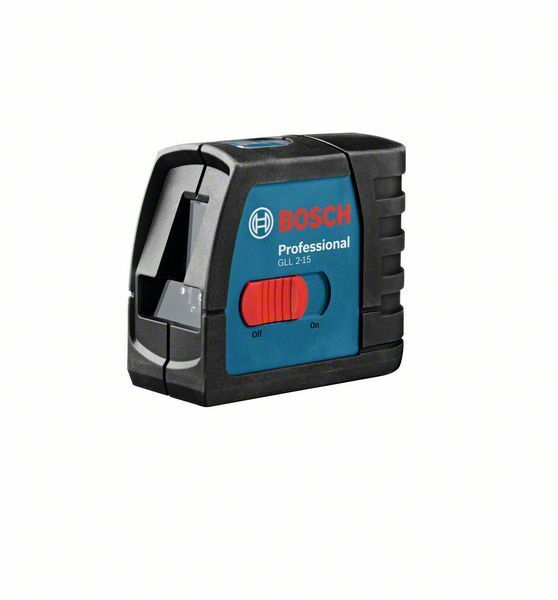 Čárový laser Bosch GLL 2-15 Professional, 0601063701