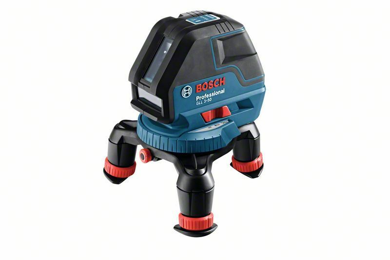 Čárový laser Bosch GLL 3-50 + L-BOXX, un. držák, laser. přijímač Professional, 0601063803