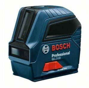 Křížový čárový laser Bosch GLL 2-10 Professional, 0601063L00