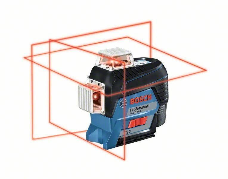 Čárový laser Bosch GLL 3-80 C Professional, 0601063R01