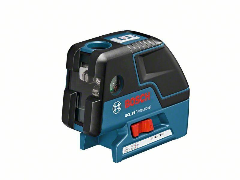 Bodový laser Bosch GCL 25 + L-BOXX, univerzál. držák BM 1 Professional, 0601066B03