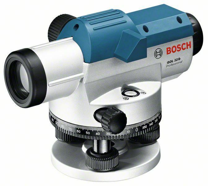 Optický nivelační přístroj Bosch GOL 32 D Professional, kufr, 0601068500