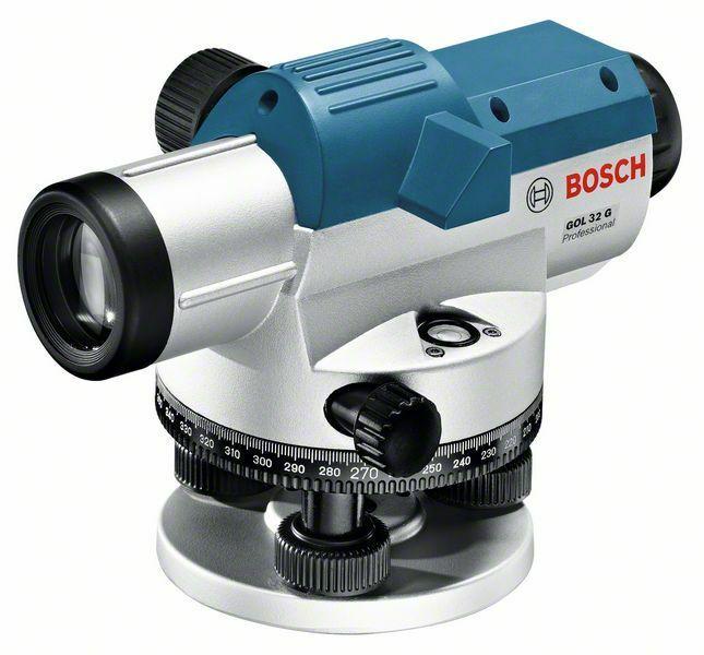 Optický nivelační přístroj Bosch GOL 32 G + měřicí lať, stativ Professional, 06159940AY