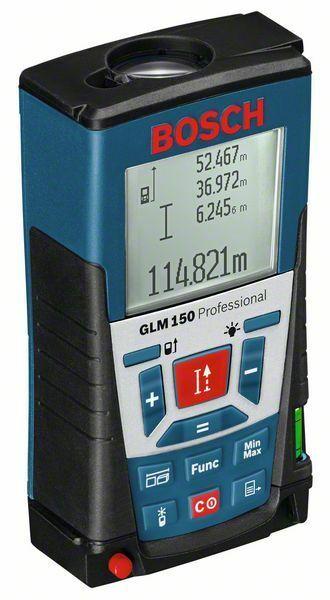 Laserový měřič vzdáleností Bosch GLM 150 Professional, 0601072000