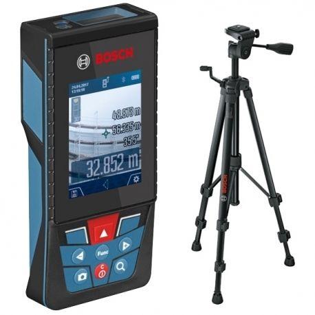 Laserový dálkoměr Bosch GLM 120 C + BT150 stativ Professional, 0601072F01