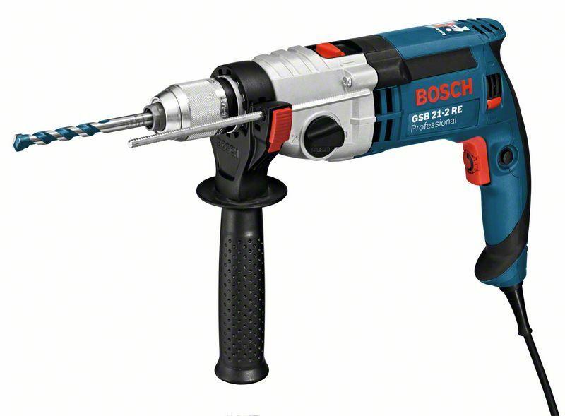 Příklepová vrtačka Bosch GSB 21-2 RE Professional, 060119C500