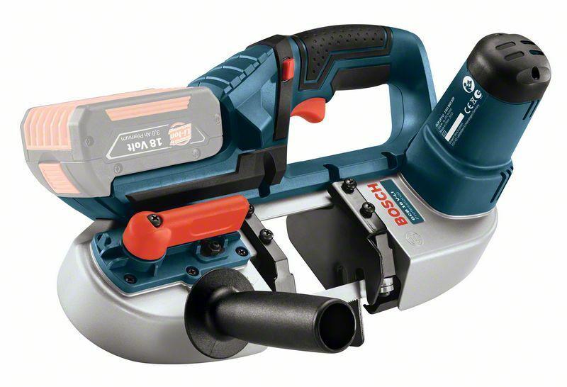 Aku pásová pila Bosch GCB 18 V-LI Professional - bez baterie, 06012A0300