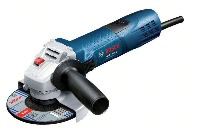 Malá úhlová bruska Bosch GWS 7-115 E Professional (720W; 115mm), 0601388203