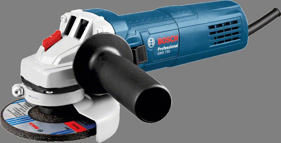 Úhlová bruska Bosch GWS 750-125 Professional, 750 W, krabice, 0601394001