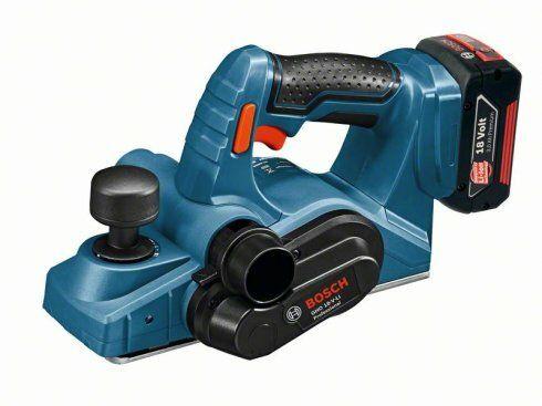 Aku hoblík Bosch GHO 18 V-LI Professional - bez baterie, 06015A0300