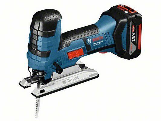 Aku kmitací pila Bosch GST 18 V-LI S Professional, 2x aku, nabíječka, 06015A5102