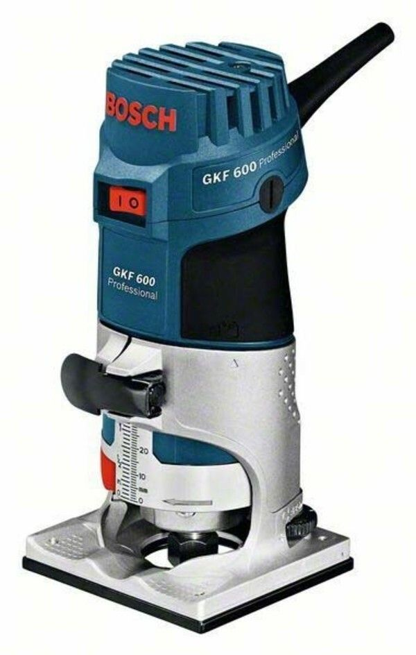 Hranová frézka Bosch GKF 600 Professional, 060160A100