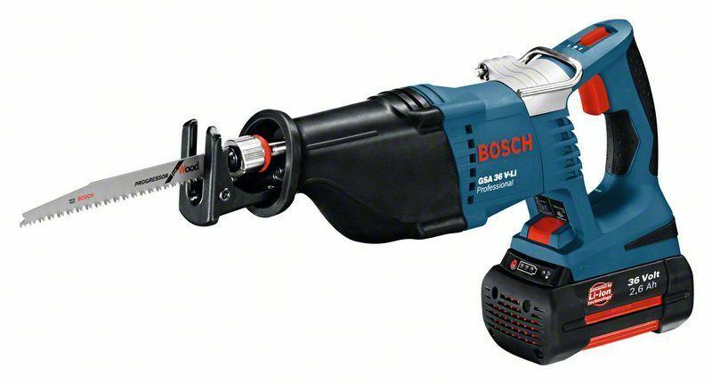 Aku pila ocaska Bosch GSA 36 V-LI Professional, 0601645R02