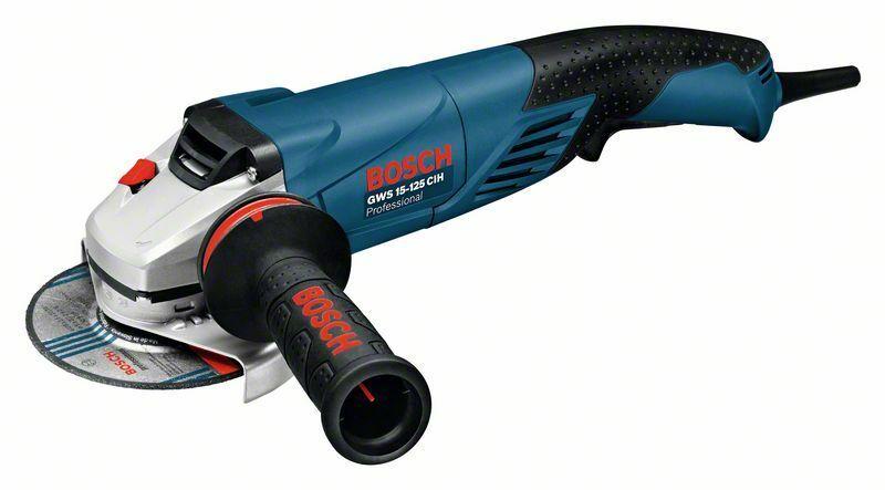 Úhlová bruska Bosch GWS 15-125 CIH Professional, 0601830222