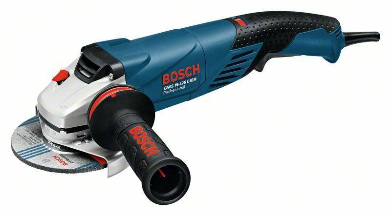 Úhlová bruska Bosch GWS 15-125 CIEH Professional, 0601830322