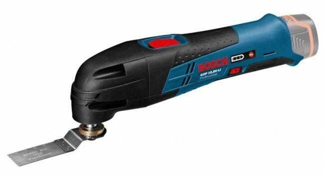 Aku multifunkční nářadí Bosch GOP 10,8 V-LI Professional - bez baterie, 060185800C